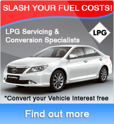 Convert your car to LPG